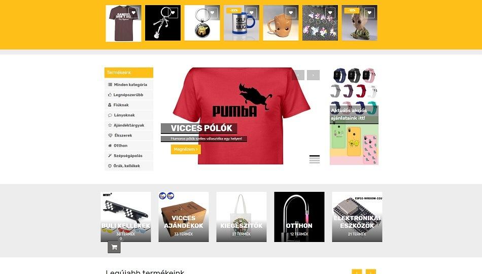 Putszos - webshop